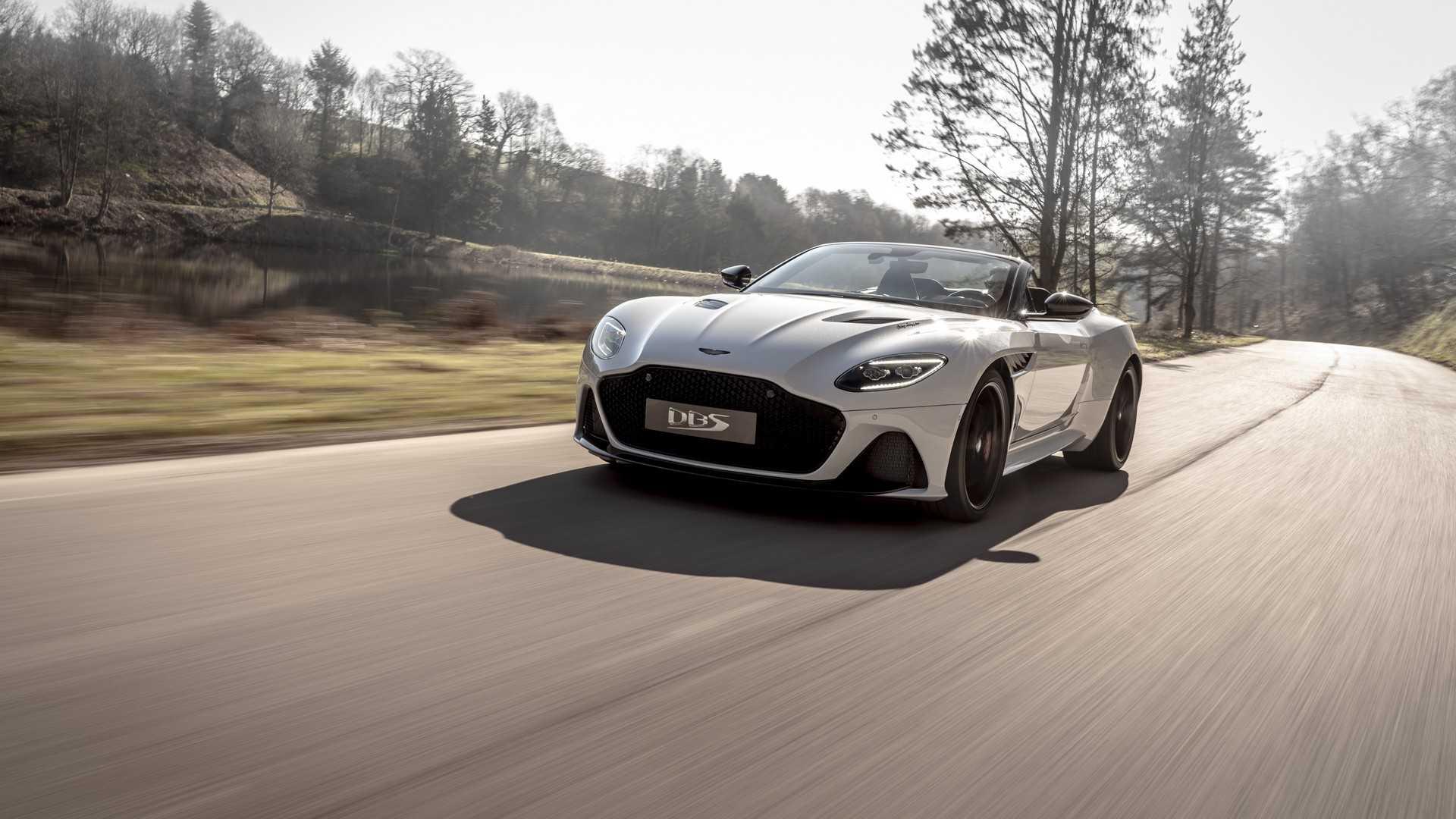 2019 Aston Martin DBS Superleggera Volante debuts: Aston Martin's most fastest car