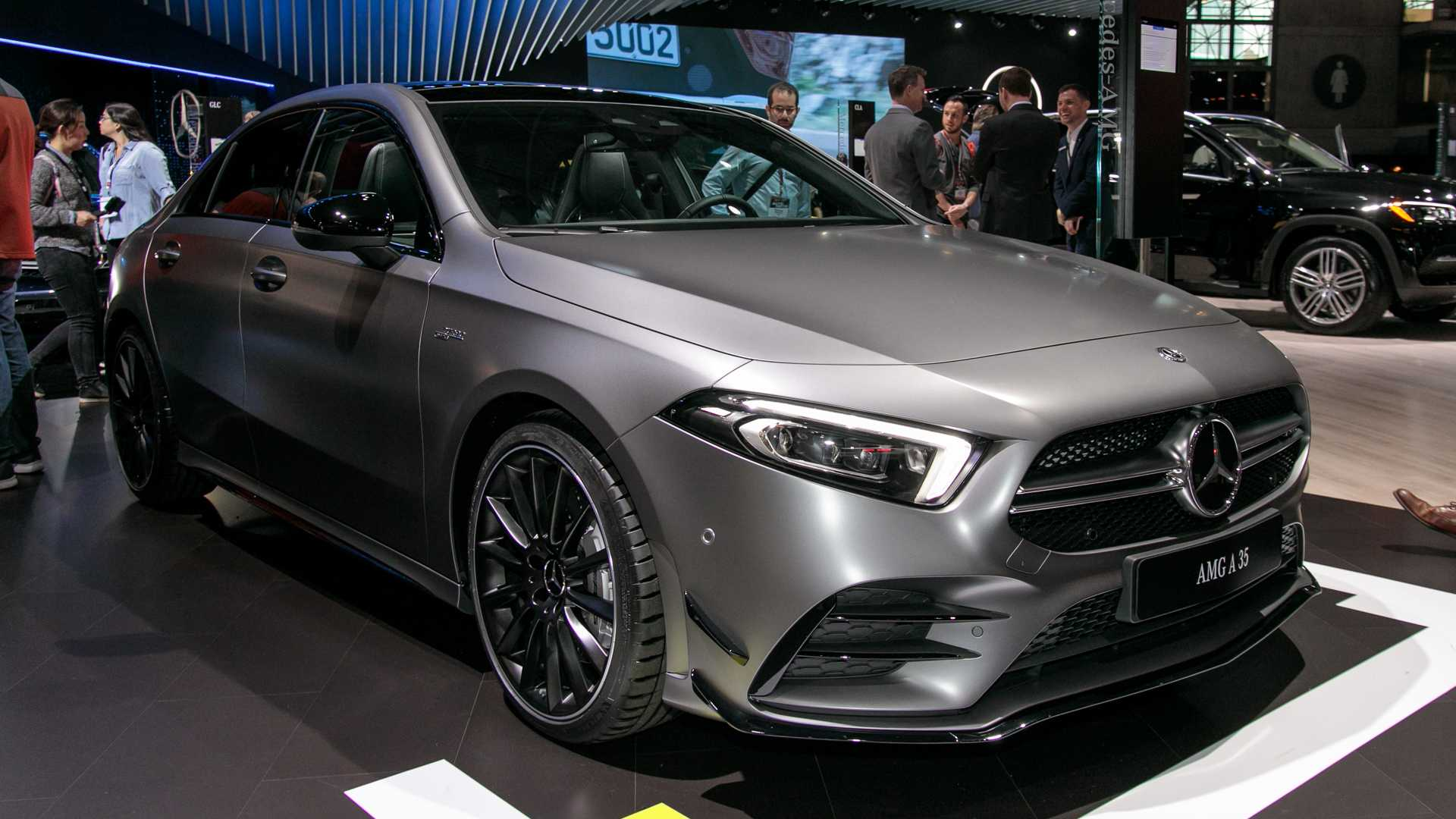 2020 Mercedes-AMG A35 debuts at New York Auto Show ...
