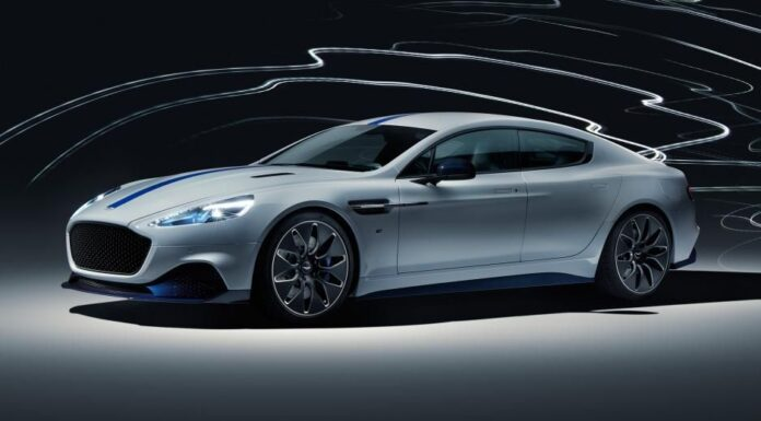 Aston Martin Rapide E Revealed: The first completely electric car From Aston Martin
