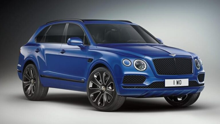 Bentley launches the Design Series, the car that is combined with all Bentayga models