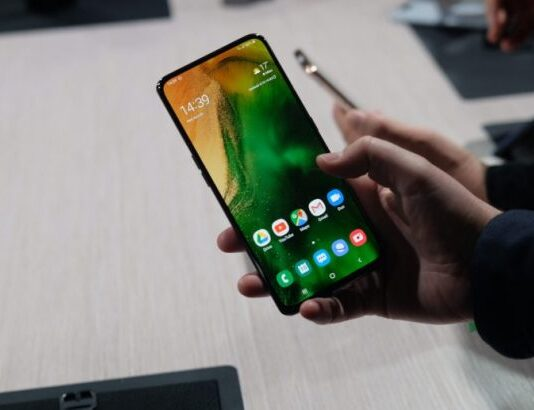 Galaxy A80 has a rear camera that is selfie at the same time