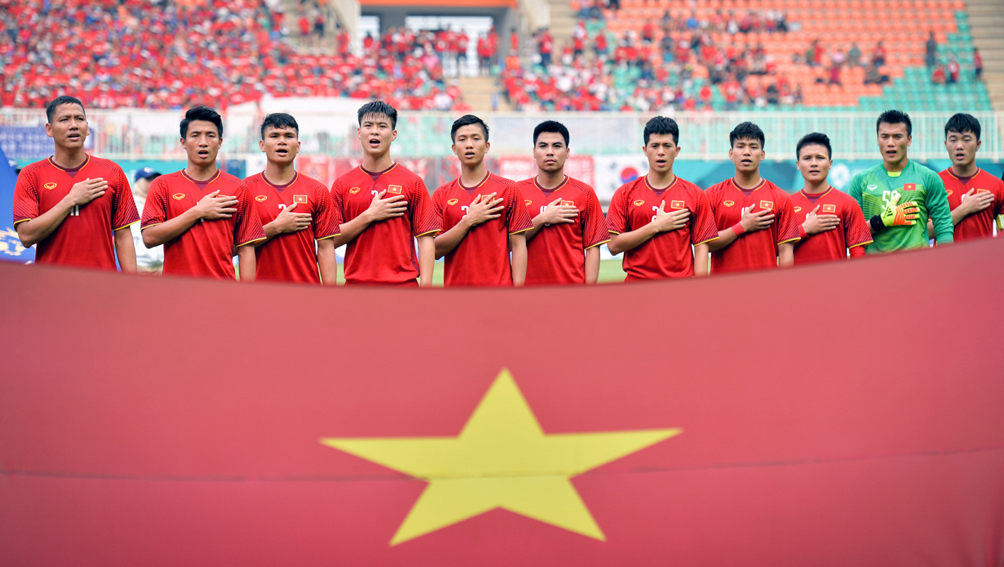 (The Vietnamese U23 soccer team toughed unprecedented victory peaks)