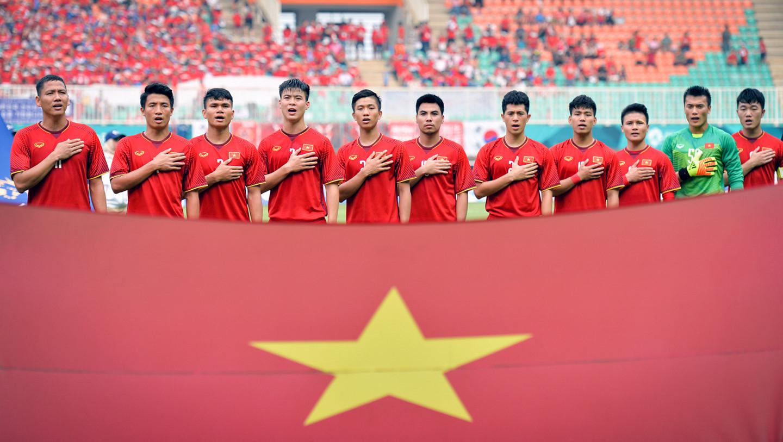 (The Vietnamese U23 soccer team toughed unprecedented victory peaks)