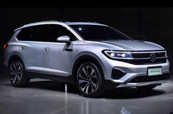 Volkswagen SMV SUV Concept Revealed