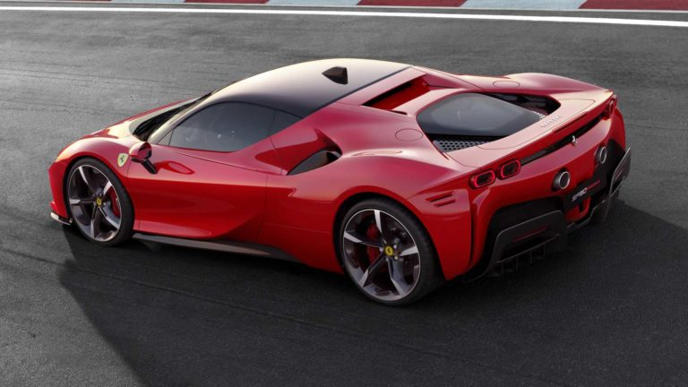 Ferrari SF90 Stradale Hyper-Hybrid Car with 986 Horsepower Revealed