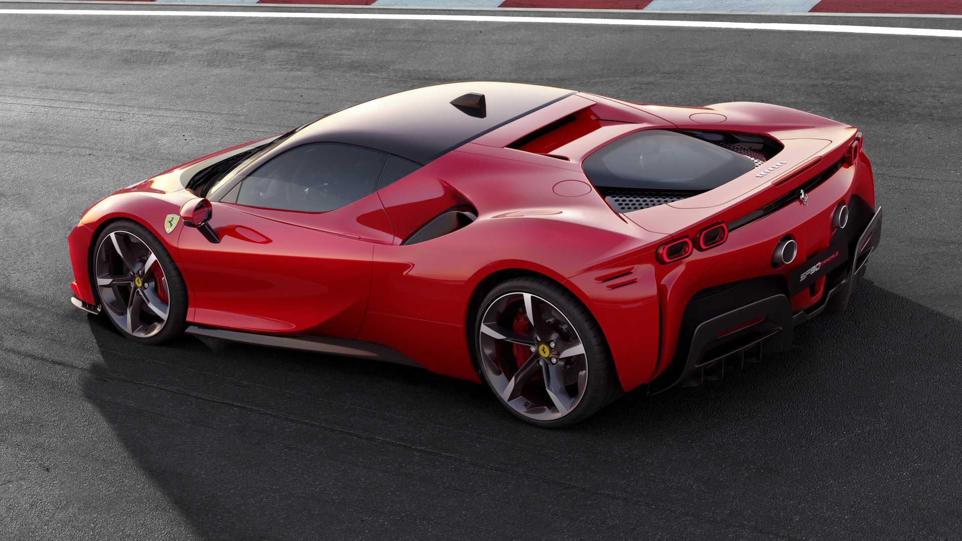 Ferrari SF90 Stradale Hyper-Hybrid Car with 986 Horsepower Revealed