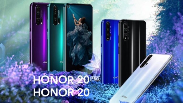 Honor launched the new series of smartphones, Honor 20