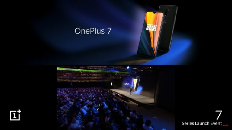Oneplus 7 with Snapdragon 855, 48MP camera and stereo speakers launched