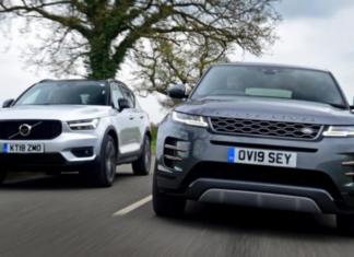 Comparison: Range Rover Evoque vs. Volvo XC40