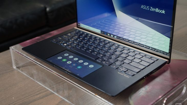 ZenBook and VivoBook laptops replaces the trackpad with a screen