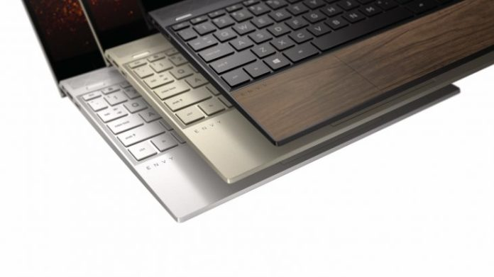 HP Introduced Envy Wood Laptops Partially Made of Wood