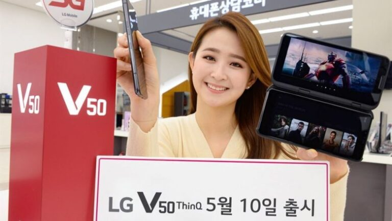 LG Electronics will launch their 5G phone this week
