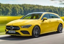 2019 Mercedes-AMG CLA35 Shooting Brake Unveiled
