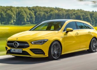 2019 Mercedes-AMG CLA35 Shooting Brake Unveiled