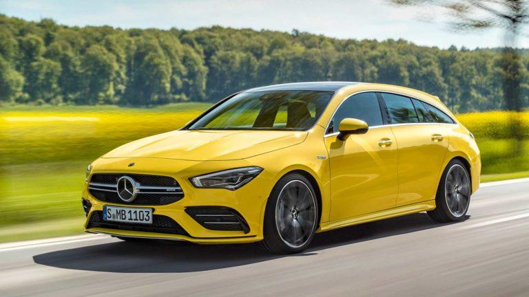 2019 Mercedes-AMG CLA 35 Shooting Brake Unveiled