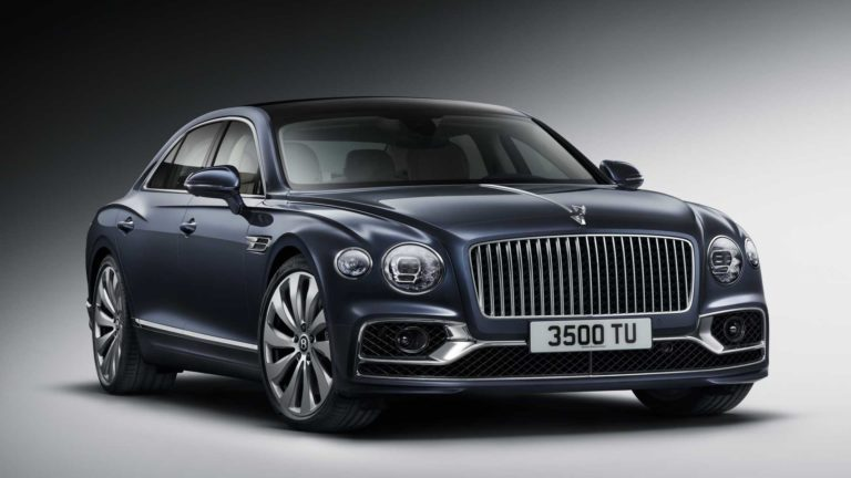 2020 Bentley Flying Spur Revealed with W12 Engine and 626 HP