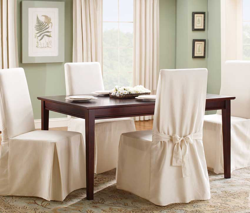 Easy Tips On Choose Dining Room Chair Covers