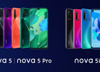 Huawei Nova 5, Nova 5 Pro and Nova 5i with a 7-nm Kirin 810 Processor Revealed