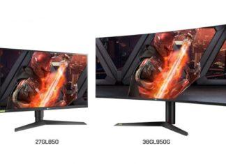 LG UltraGear Monitors Revealed