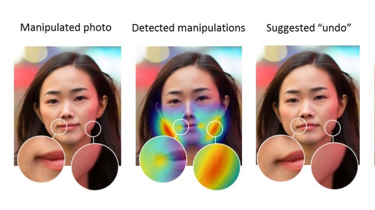 Adobe has trained an AI system that identifies photo manipulation with Photoshop