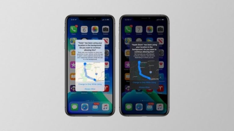 iOS 13 will let you know which applications are tracking your location and where