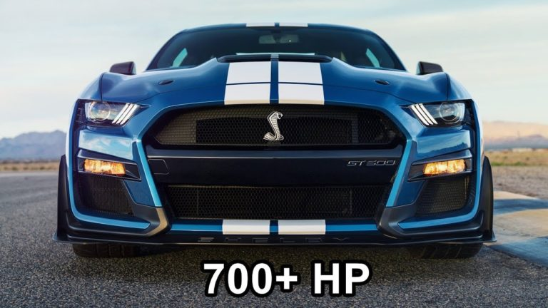 Mustang Shelby GT500, the Most Powerful Car Ford has ever Produced (Video)