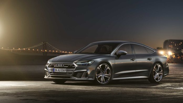 2020 Audi S7 with 444 horsepower, in a mission to rival BMW and Mercedes