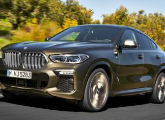 2020 BMW X6 third generation debuts