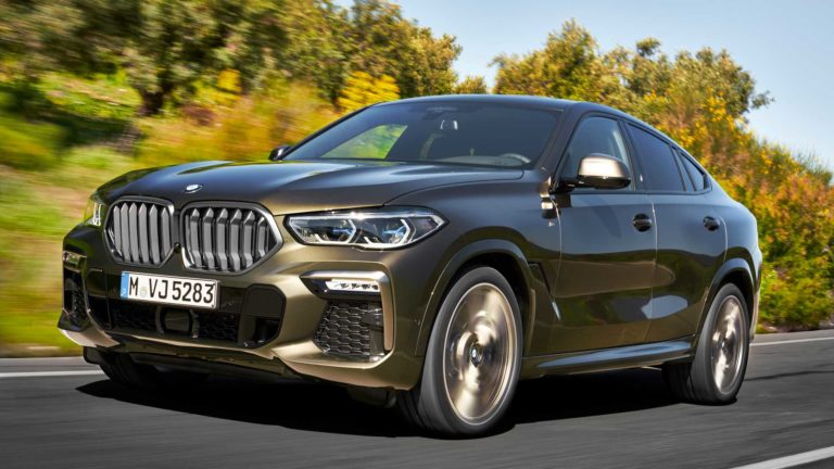 2020 BMW X6 third generation debuts as a combination between the Coupe and SUV