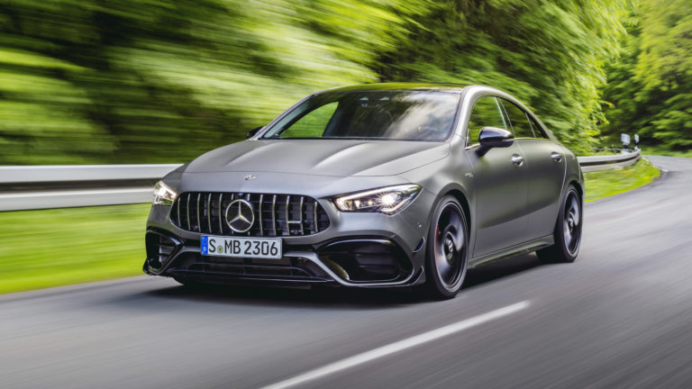 2020 Mercedes-AMG CLA 45 Officially Revealed