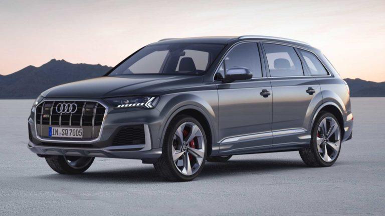2020 Audi SQ7 TDI Debuts with a new Design