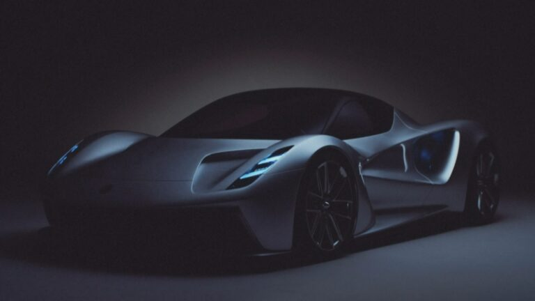 Electric Super-Cars, UK to produce the new Lotus Evija model