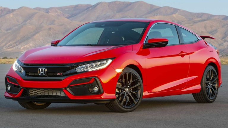 2020 Honda Civic SI Coupe and Sedan revealed with some minor changes