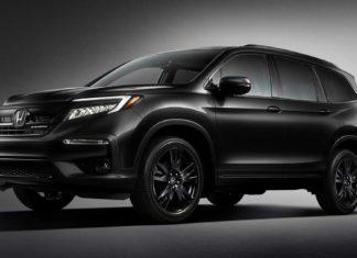 2020 Honda Pilot SUV Black Edition