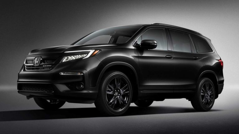 2020 Honda Pilot SUV Black Edition Revealed