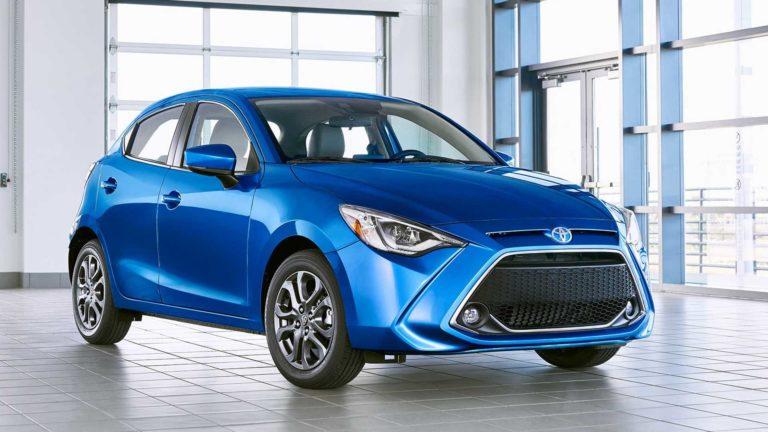2020 Toyota Yaris Hatchback Revealed