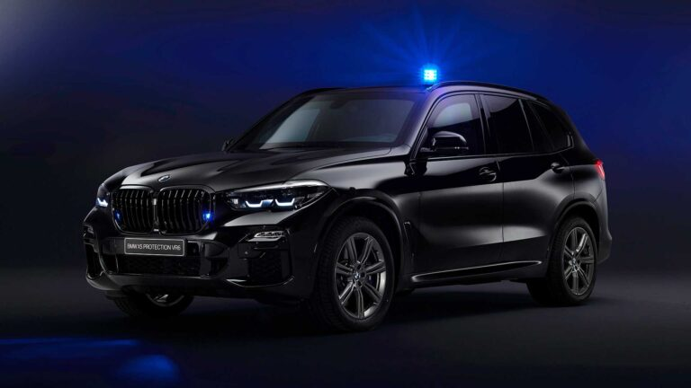 BMW X5 Protection VR6 Arrives Can Protect from AK-47 Bullet and Explosives