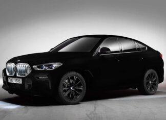 2020 BMW X6 in Vantablack