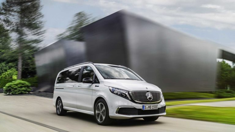 Mercedes EQV, practically a V-Class turned into an electric car