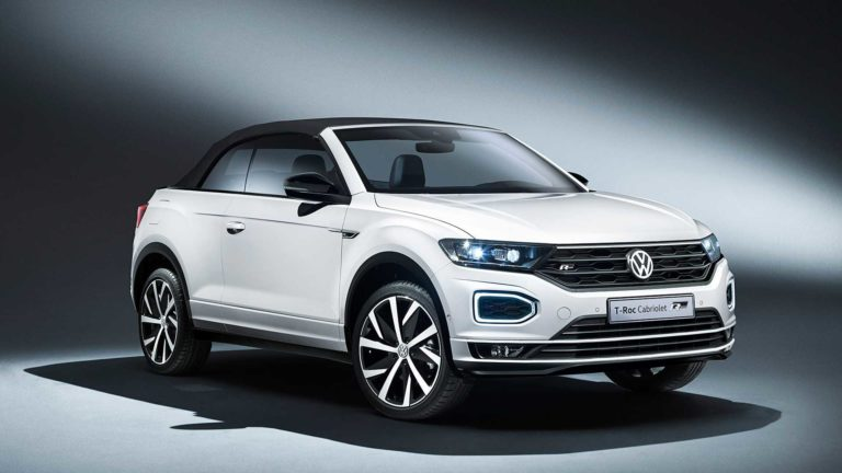Volkswagen unveils the T-Roc model that will be launched next month