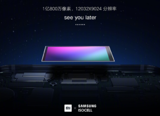Xiaomi will build the 108-megapixel phone camera, in collaboration with Samsung