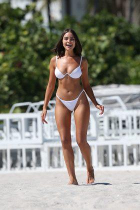 olivia culpo hot in bikini beach in miami 09 25 2018 8