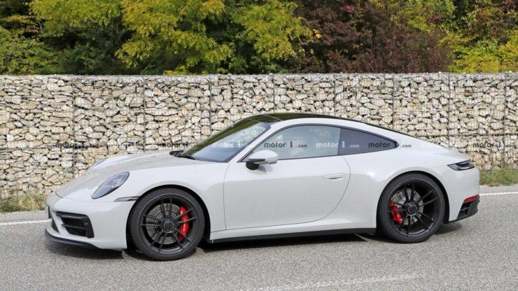 2021 porsche 911 gts coupe spy photo 11