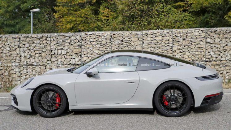2021 porsche 911 gts coupe spy photo 12