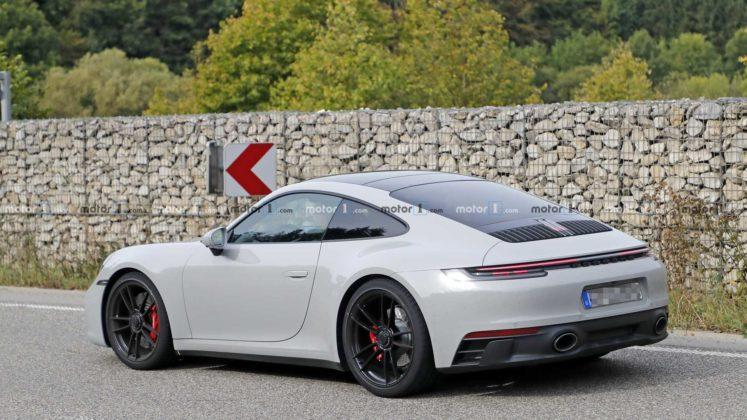 2021 porsche 911 gts coupe spy photo 15