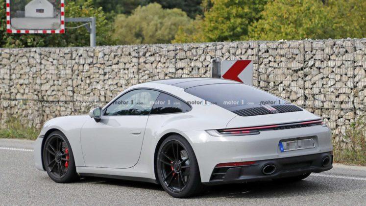 2021 porsche 911 gts coupe spy photo 16