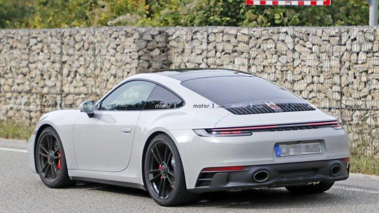 2021 porsche 911 gts coupe spy photo 17