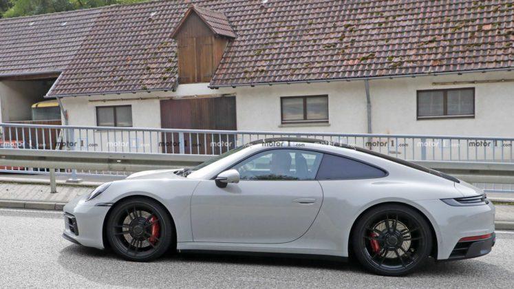 2021 porsche 911 gts coupe spy photo 6