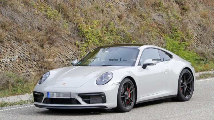 2021 porsche 911 gts coupe spy photo