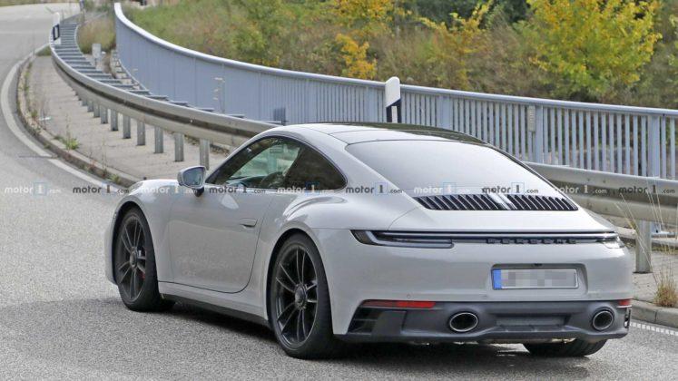 2021 porsche 911 gts coupe spy photo 8